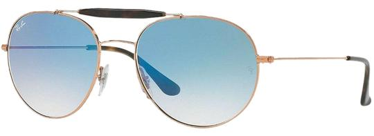 Preload https://img-static.tradesy.com/item/26444636/ray-ban-bronze-copper-frame-and-blue-gradient-lens-rb3540-90353f-56-unisex-pilot-sunglasses-0-2-540-540.jpg