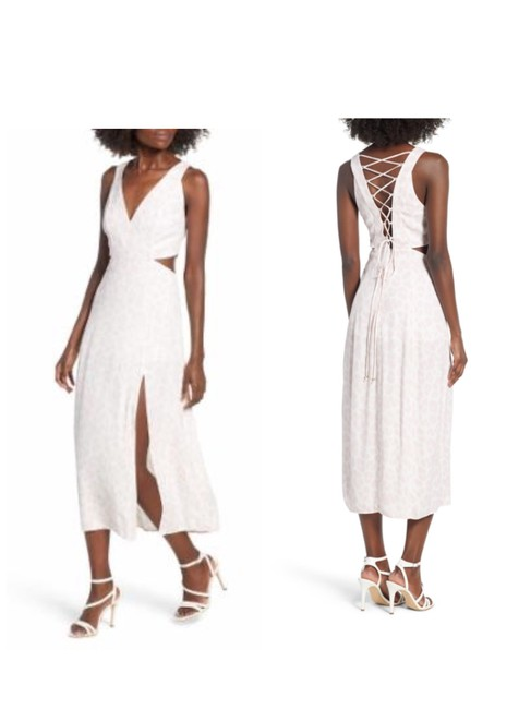 Preload https://img-static.tradesy.com/item/26444664/pale-pink-california-clothing-lace-up-xl-mid-length-casual-maxi-dress-size-12-l-0-0-650-650.jpg