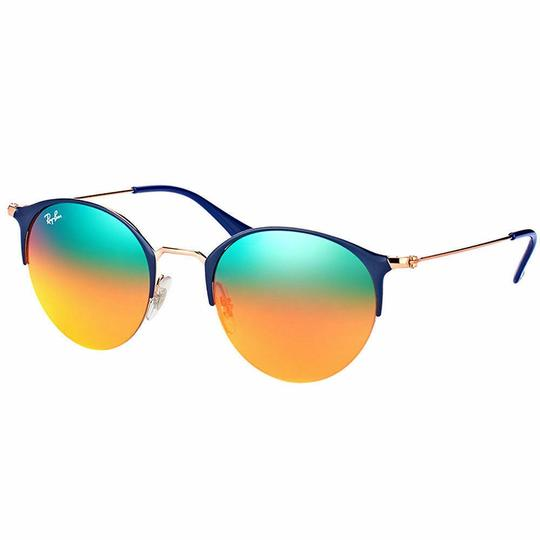 Preload https://img-static.tradesy.com/item/26444672/ray-ban-copper-blue-frame-and-orange-red-mirrored-gradient-lens-rb3578-9036a8-50mm-unisex-round-sung-0-0-540-540.jpg