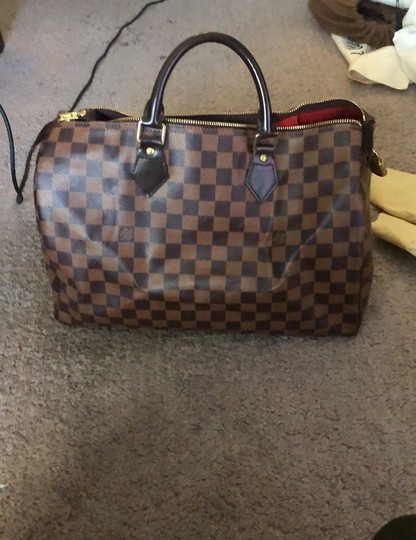 Louis Vuitton Satchel in Damier Ebene Image 3