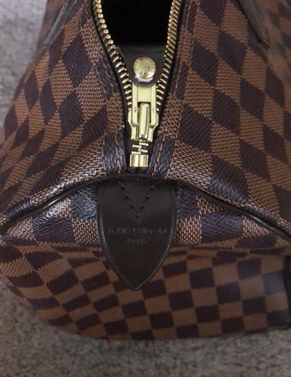 Louis Vuitton Satchel in Damier Ebene Image 5