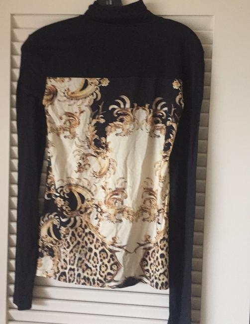 Roberto Cavalli T Shirt black and gold Image 1