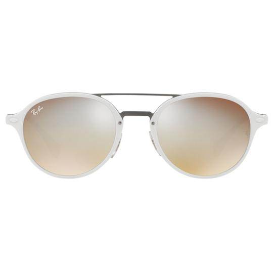 Ray-Ban Mirrored Gradient Lens RB4287 671/B8 55 Unisex Round Sunglasses Image 1