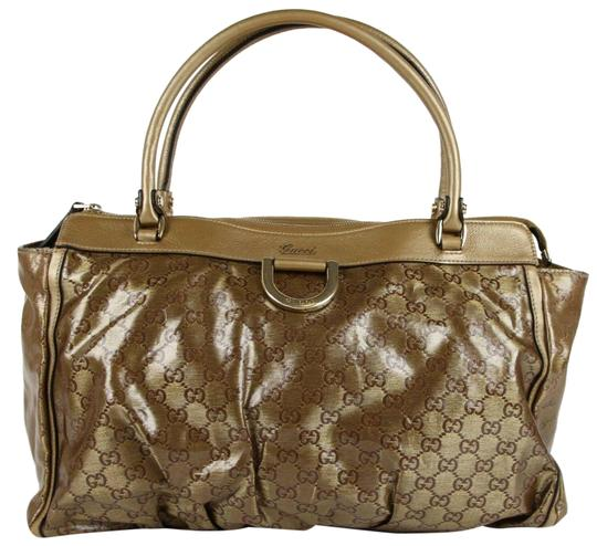 Preload https://img-static.tradesy.com/item/26444736/gucci-d-crystal-canvasleather-guccissima-zip-top-190248-gold-canvasleather-shoulder-bag-0-2-540-540.jpg