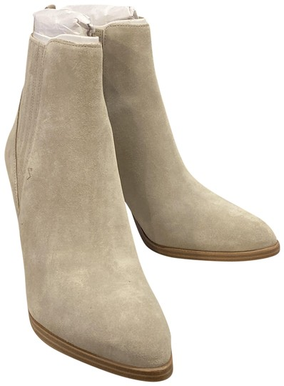 Marc Fisher Light Natural Suede Boots Image 0