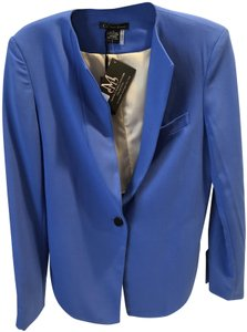 Caribbean Queen Cropped Casual Blue Jacket