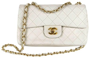 Chanel Leather Small Cf Classic Shoulder Bag