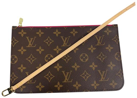 Preload https://item4.tradesy.com/images/louis-vuitton-neverfull-pochette-new-pouch-from-gm-pivione-monogram-brown-coated-canvas-wristlet-26446013-0-2.jpg?width=440&height=440
