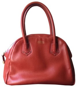Henri Bendel Satchel in Orange Red