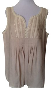 Grace Elements Top Light Beige/Ivory