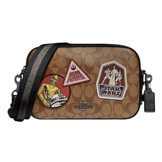 Item - Star Wars X Jes In Signature Canvas with Patches Khaki/Black Antique Nickel Cross Body Bag