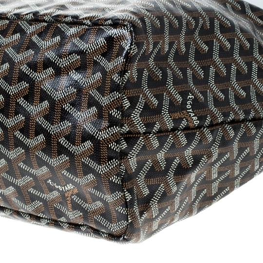 Goyard Coated Canvas Canvas Tote in Brown Image 6