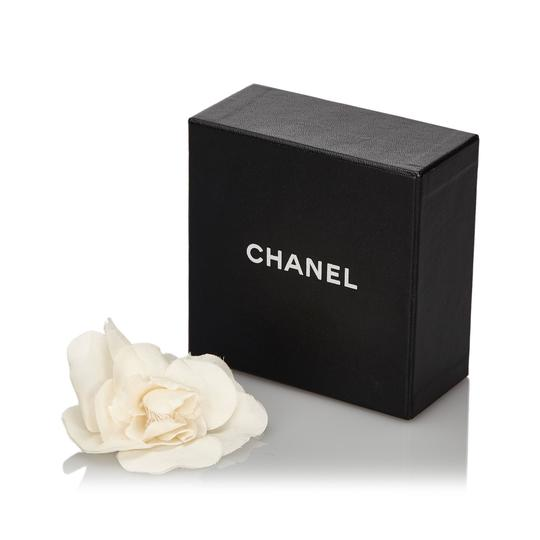 Chanel Chanel Fabric Camellia Brooch Image 4