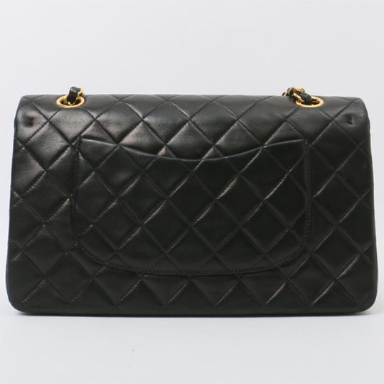 Chanel Vintage Lambskin Classic Flap Shoulder Bag Image 1