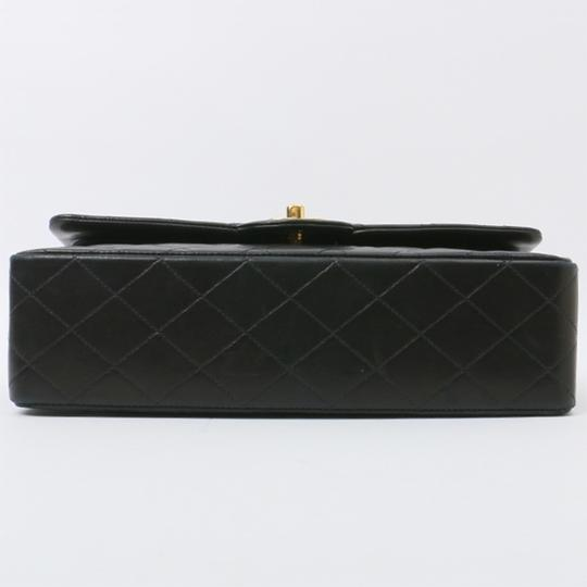 Chanel Vintage Lambskin Classic Flap Shoulder Bag Image 2