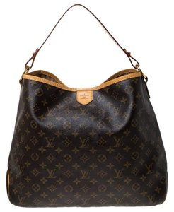 Louis Vuitton Coated Canvas Canvas Hobo Bag