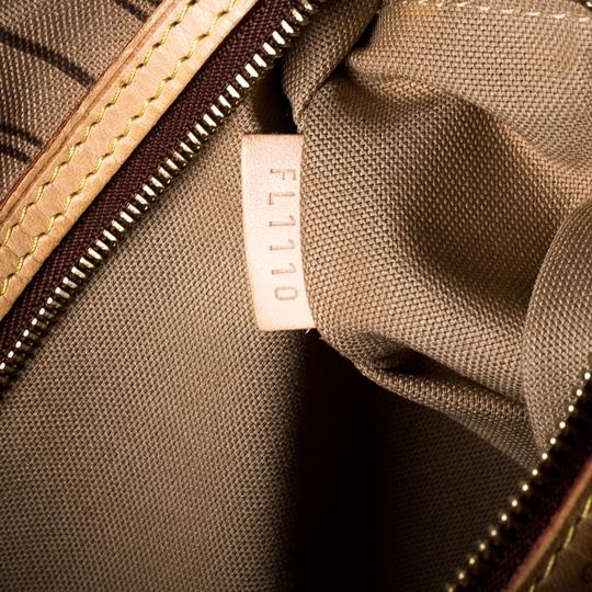 Louis Vuitton Coated Canvas Canvas Hobo Bag Image 10