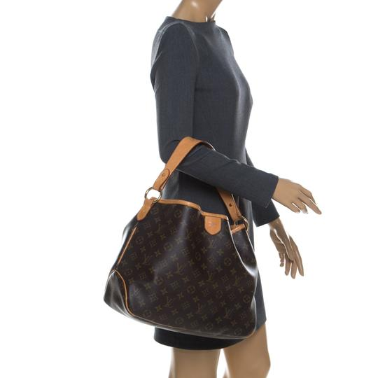 Louis Vuitton Coated Canvas Canvas Hobo Bag Image 2