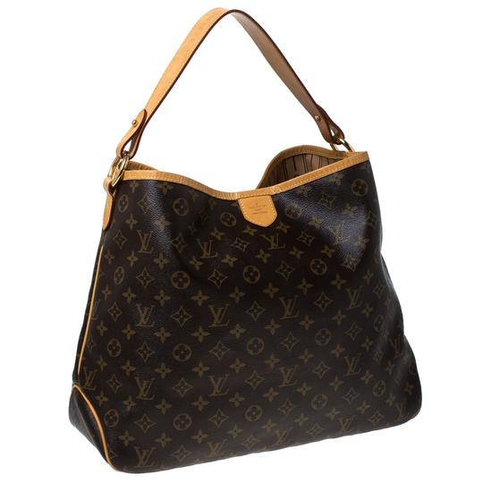 Louis Vuitton Coated Canvas Canvas Hobo Bag Image 3