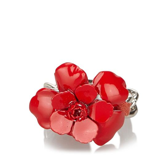 Chanel Chanel Metal Camellia Ring Image 6