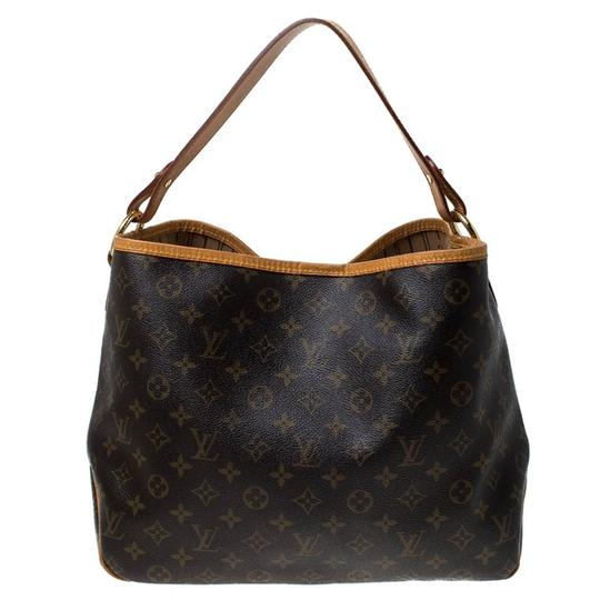Louis Vuitton Coated Canvas Canvas Hobo Bag Image 1