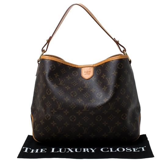 Louis Vuitton Coated Canvas Canvas Hobo Bag Image 11