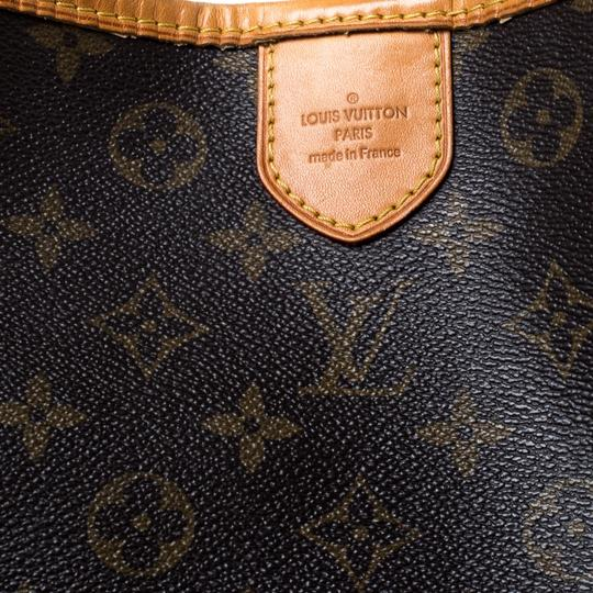 Louis Vuitton Coated Canvas Canvas Hobo Bag Image 9