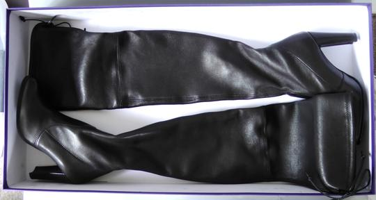 Stuart Weitzman Hollywood Party Date Night Night Out Holiday Black Boots Image 3