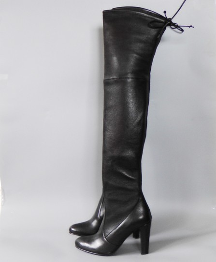 Stuart Weitzman Hollywood Party Date Night Night Out Holiday Black Boots Image 5