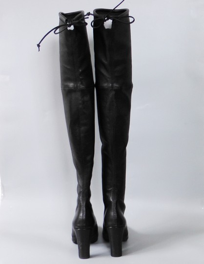 Stuart Weitzman Hollywood Party Date Night Night Out Holiday Black Boots Image 6