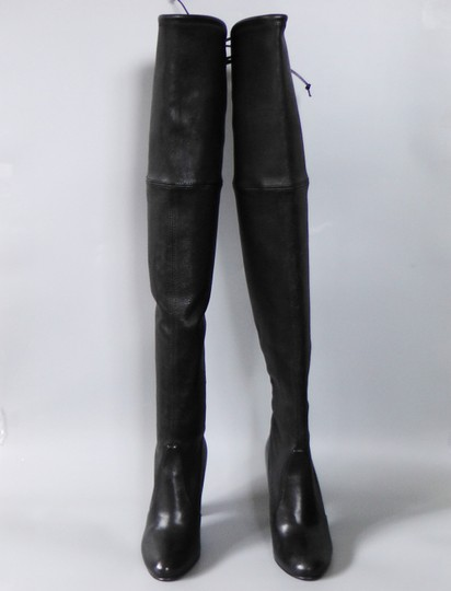 Stuart Weitzman Hollywood Party Date Night Night Out Holiday Black Boots Image 7