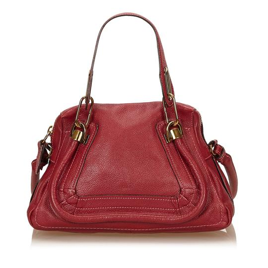 Preload https://img-static.tradesy.com/item/26447212/chloe-paraty-ity-card-red-leather-satchel-0-0-540-540.jpg