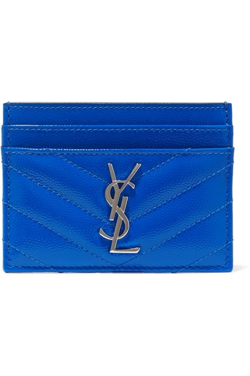 Preload https://img-static.tradesy.com/item/26447255/saint-laurent-monogramme-quilted-neon-textured-leather-cardholder-wallet-0-0-540-540.jpg