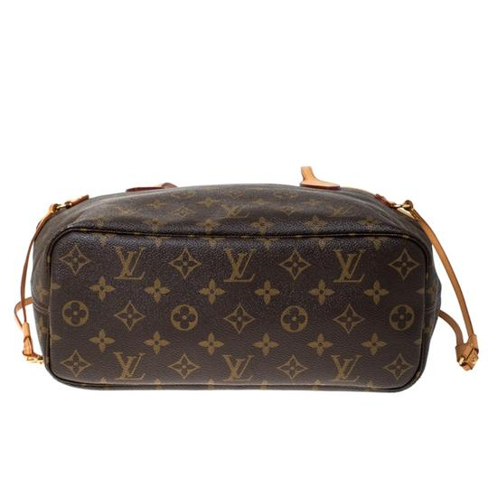 Louis Vuitton Monogram Canvas Coated Canvas Tote in Brown Image 4