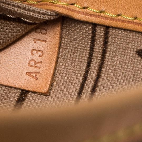 Louis Vuitton Monogram Canvas Coated Canvas Tote in Brown Image 6