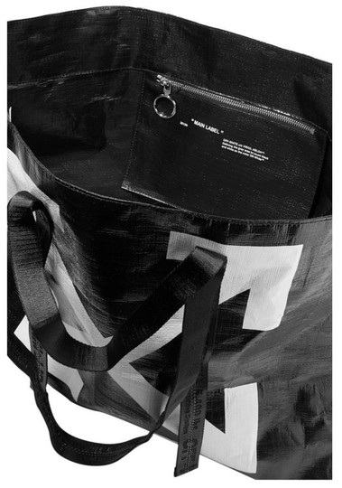 Off-White Tote in Black Image 4