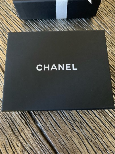 Chanel RUNWAY CHA NEL Letter Logo Crystal Gold Drop Statement Earrings Image 5