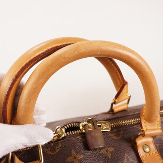 Louis Vuitton Satchel in Brown Image 9