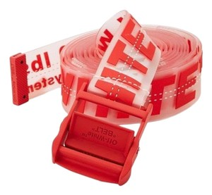Off-White™ industry red rubber belt