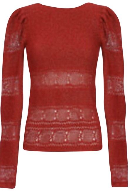 Item - M On Label But It Is 2-4 Sparkly Red Lurex Sweater