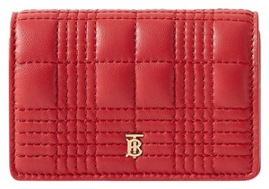 Burberry Quilted leather chain cardholder