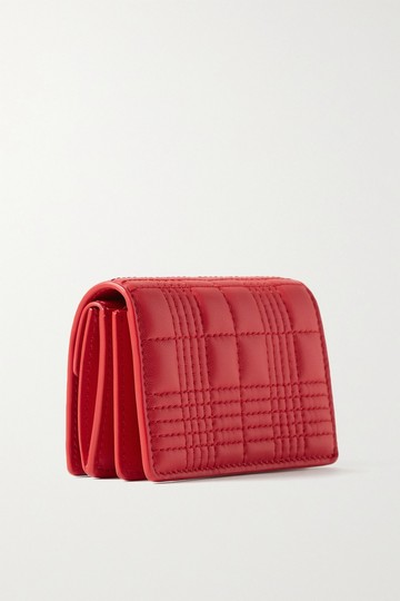 Burberry Quilted leather chain cardholder Image 2