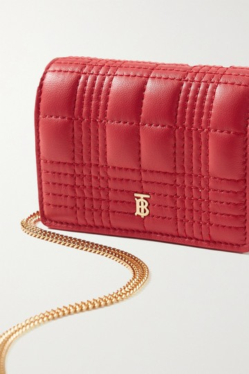 Burberry Quilted leather chain cardholder Image 3