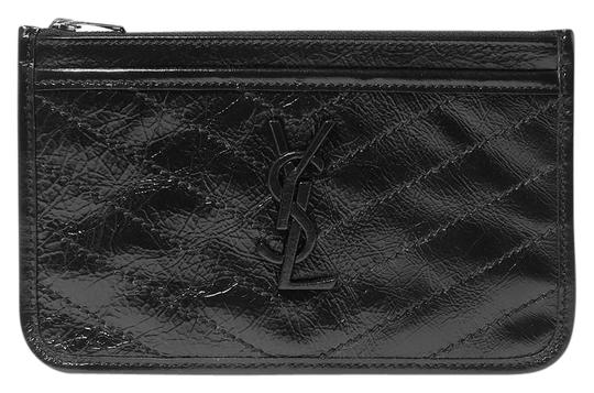 Saint Laurent NIKI BILL POUCH IN CRINKLED VINTAGE LEATHER Image 0