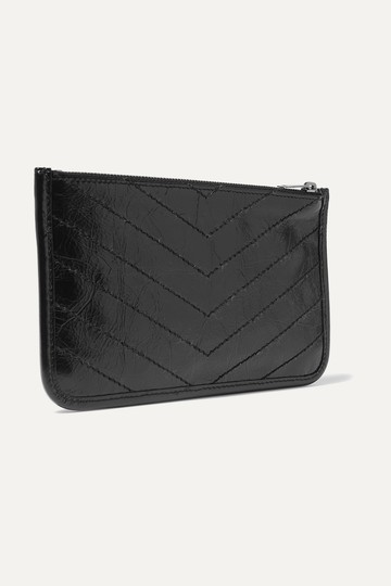Saint Laurent NIKI BILL POUCH IN CRINKLED VINTAGE LEATHER Image 1