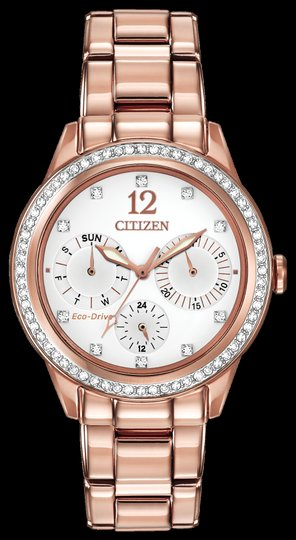 Citizen Citizen Woman's Silhouette Crystal White Dial Watch FD2013-50A Image 1