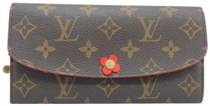 Louis Vuitton Louis Vuitton Brown Emilie Monogram Canvas Wallet