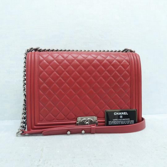 Chanel Boy Large Calfskin Shoulder Bag Image 1