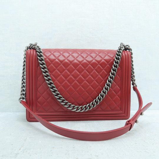 Chanel Boy Large Calfskin Shoulder Bag Image 3