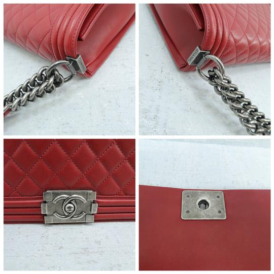 Chanel Boy Large Calfskin Shoulder Bag Image 8